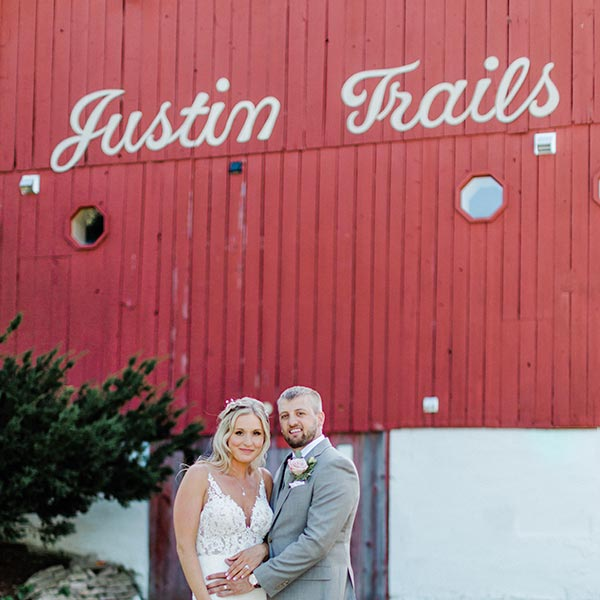 Have your Wisconsin Barn Wedding at Justin Trails Resort