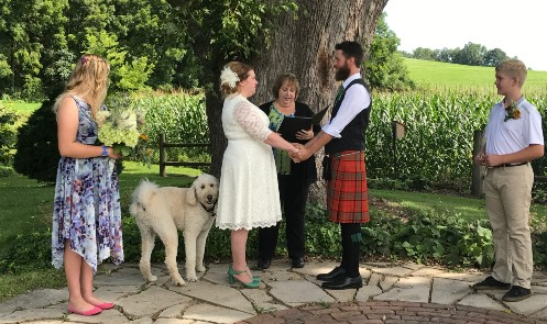 Elopement Packages at Justin Trails Resort the premier Wisconsin Barn Wedding location
