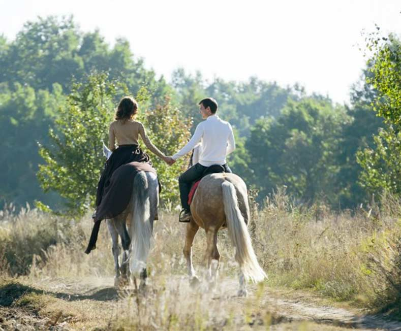 Honeymoons at Justin Trails Resort the premier Wisconsin Barn Wedding location
